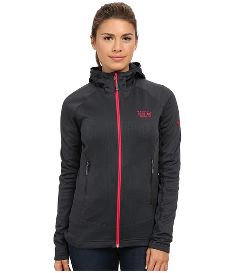 Mountain Hardwear - Desna Grid Hooded Jacket (Shark) Women