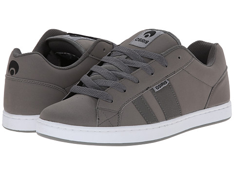 Osiris - Loot (Grey/Grey) Men's Skate Shoes