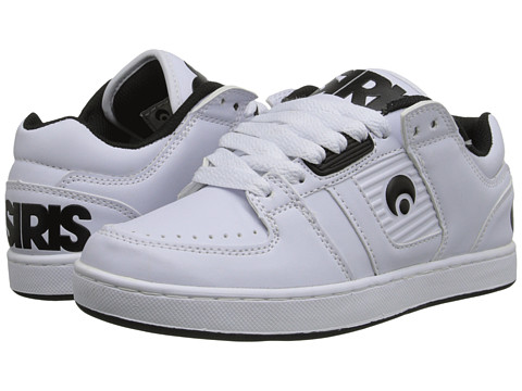 Osiris - Script (White/White/Black) Men