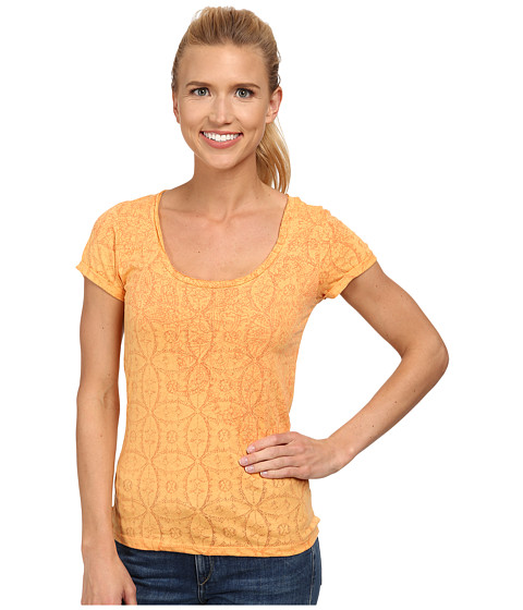 White Sierra - Cathedral Lace Tee (Warm Apricot) Women
