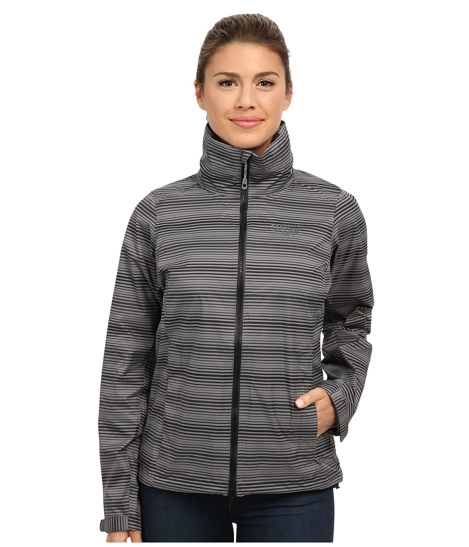 Mountain Hardwear - Plasmic Ion Printed Jacket (Black) Women's Jacket