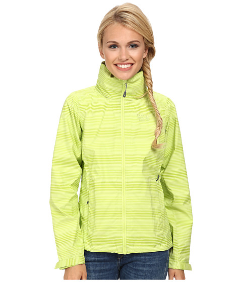 Mountain Hardwear - Plasmic Ion Printed Jacket (Fission) Women's Jacket