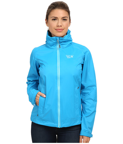 Mountain Hardwear - Plasmic Ion Jacket (Ocean Blue) Women