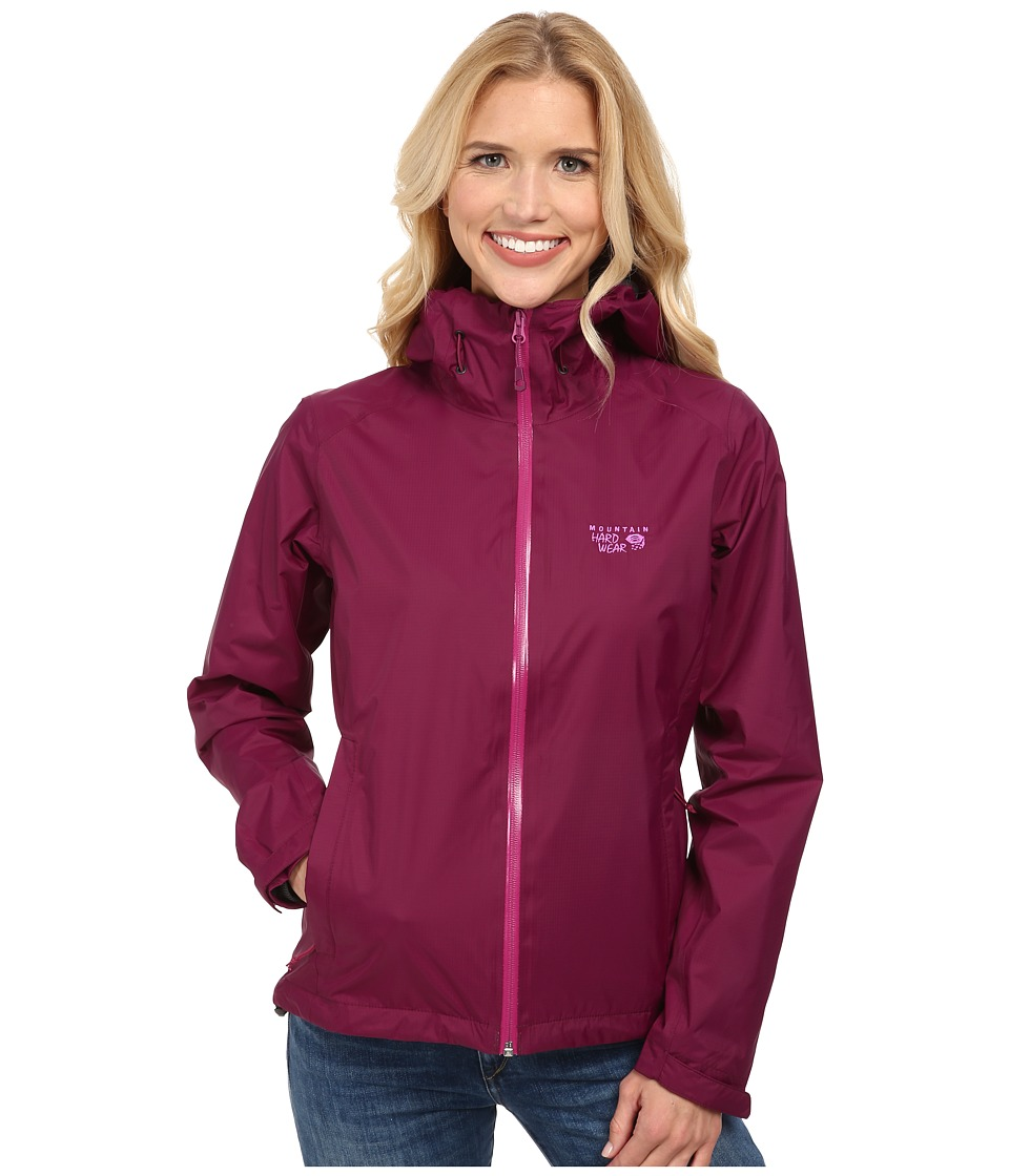 Mountain Hardwear - Finder Jacket (Dark Raspberry) Women's Jacket