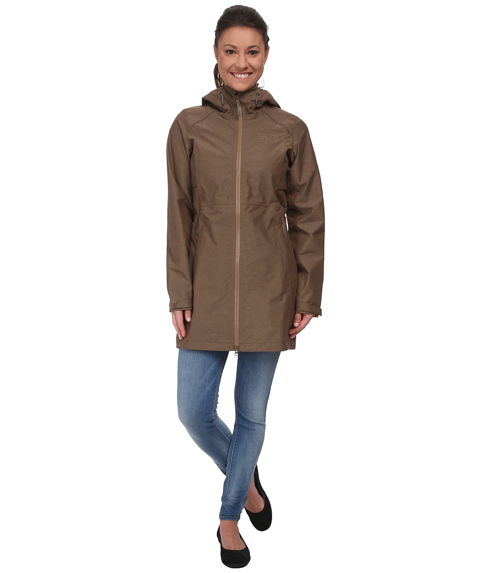 Mountain Hardwear - SOMA Plasmic Trench Jacket (Saddle) Women