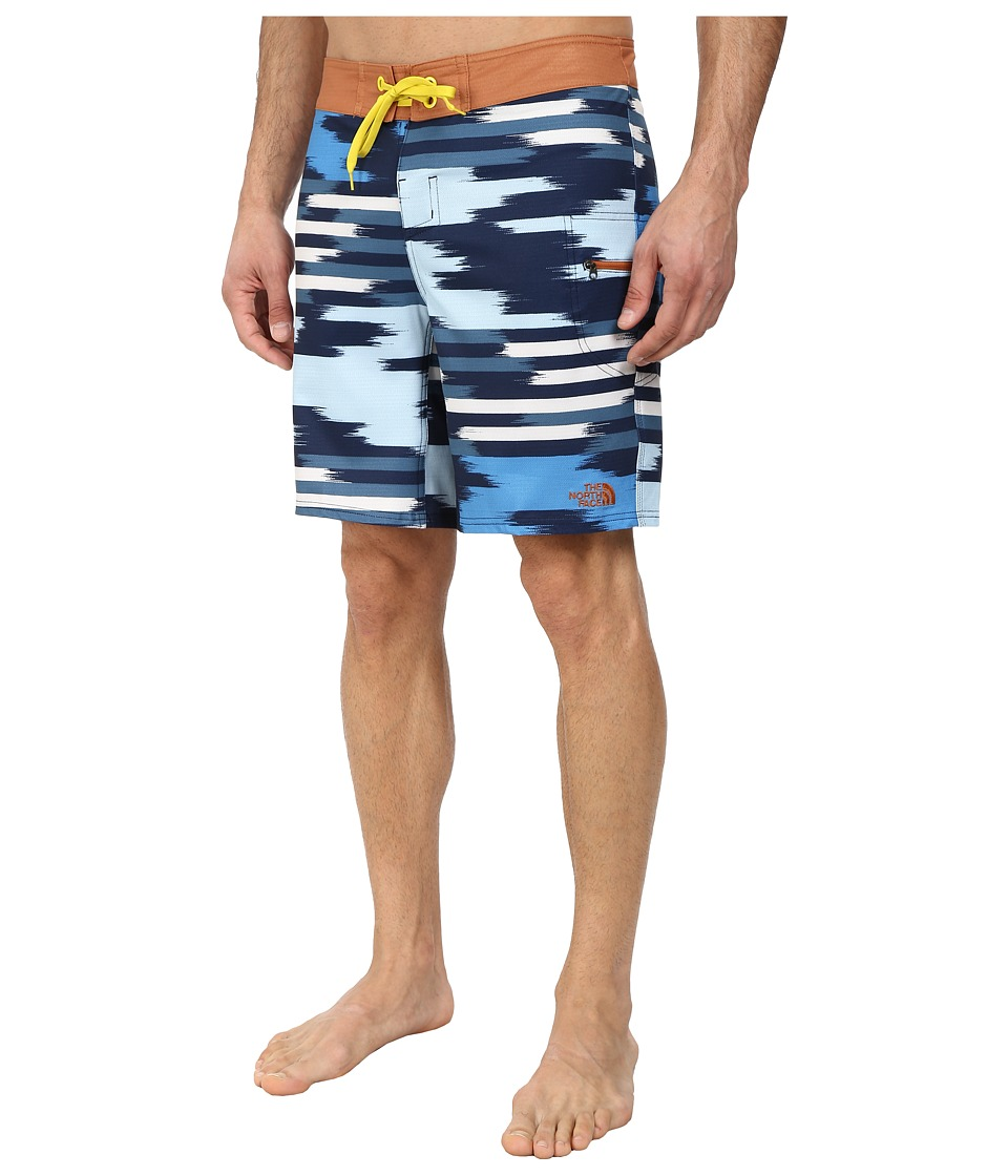 The North Face - Olas Boardshort (Cosmic Blue/Adobe Brown) Men's Swimwear