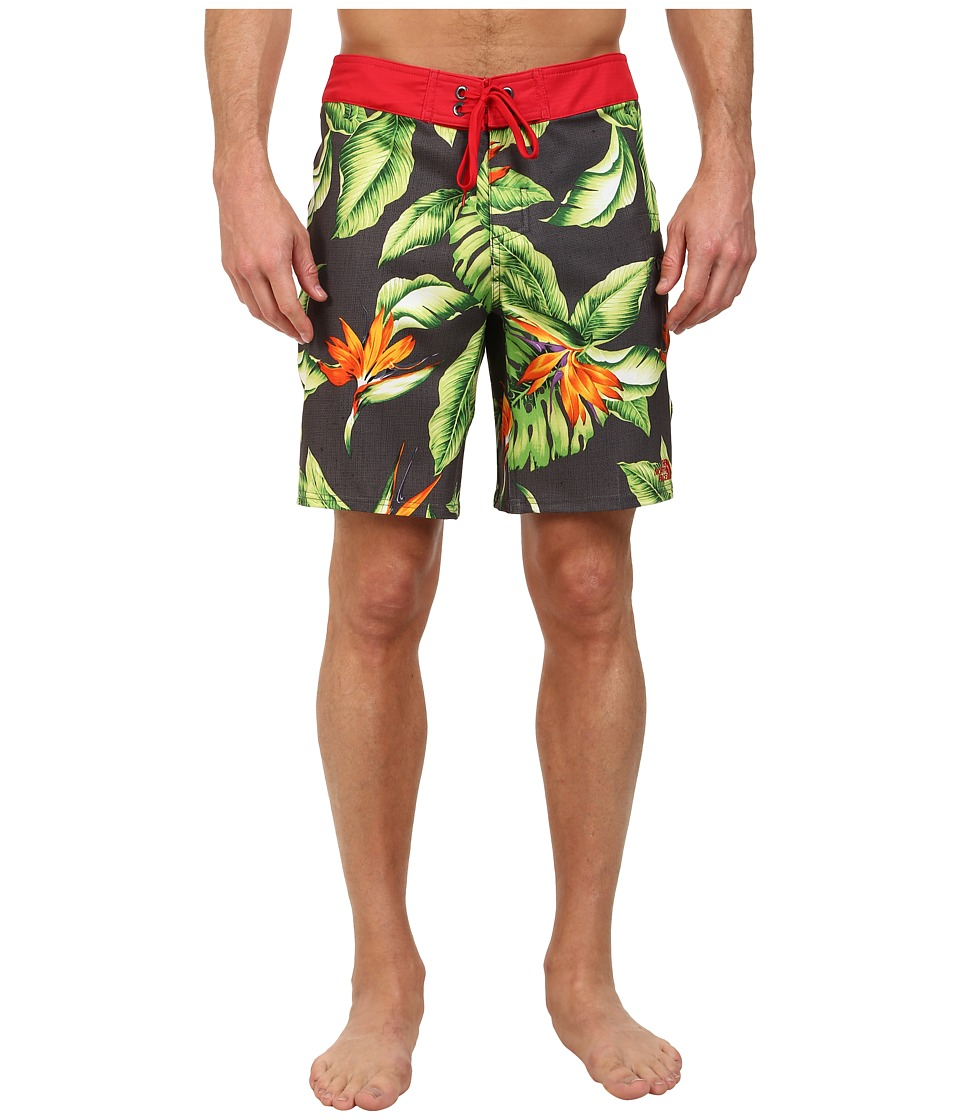 The North Face - Olas Boardshort (Graphite Grey/TNF Red) Men's Swimwear