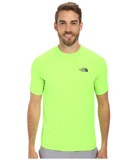 The North Face - S/S Class V Shirt (Safety Green) Men