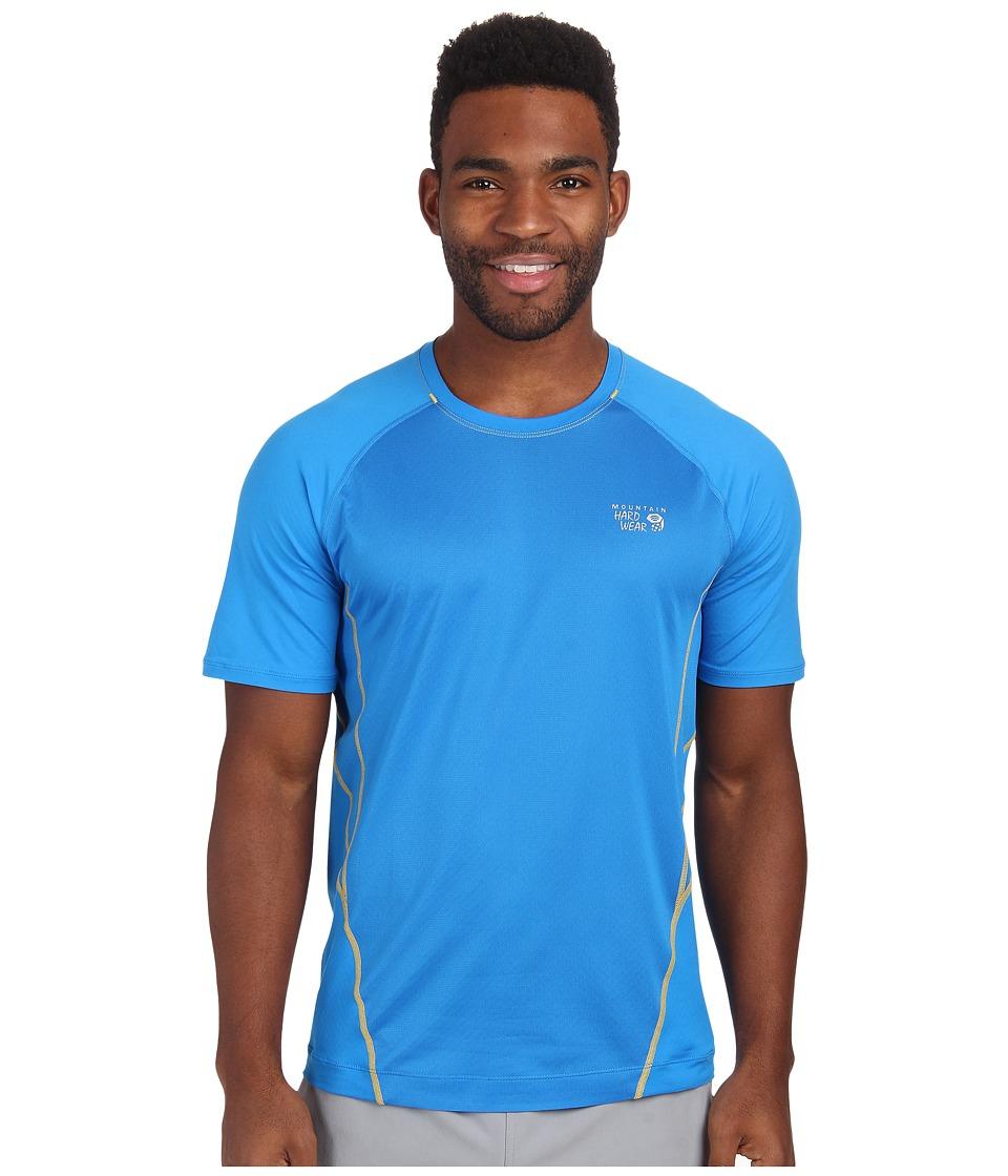 Mountain Hardwear - WickedCool S/S Tee (Hyper Blue) Men's Short Sleeve Pullover