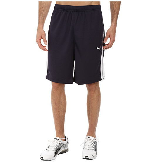 PUMA - Formstripe 10 Short (New Navy/White) Men's Shorts