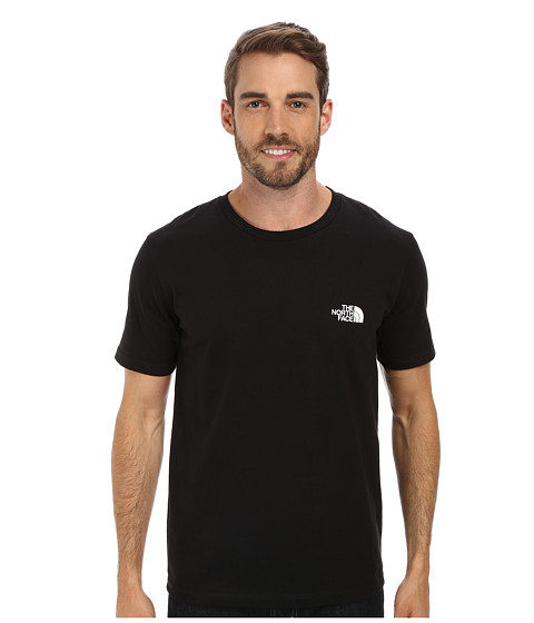 The North Face - S/S Heritage Diamond Tee (TNF Black) Men