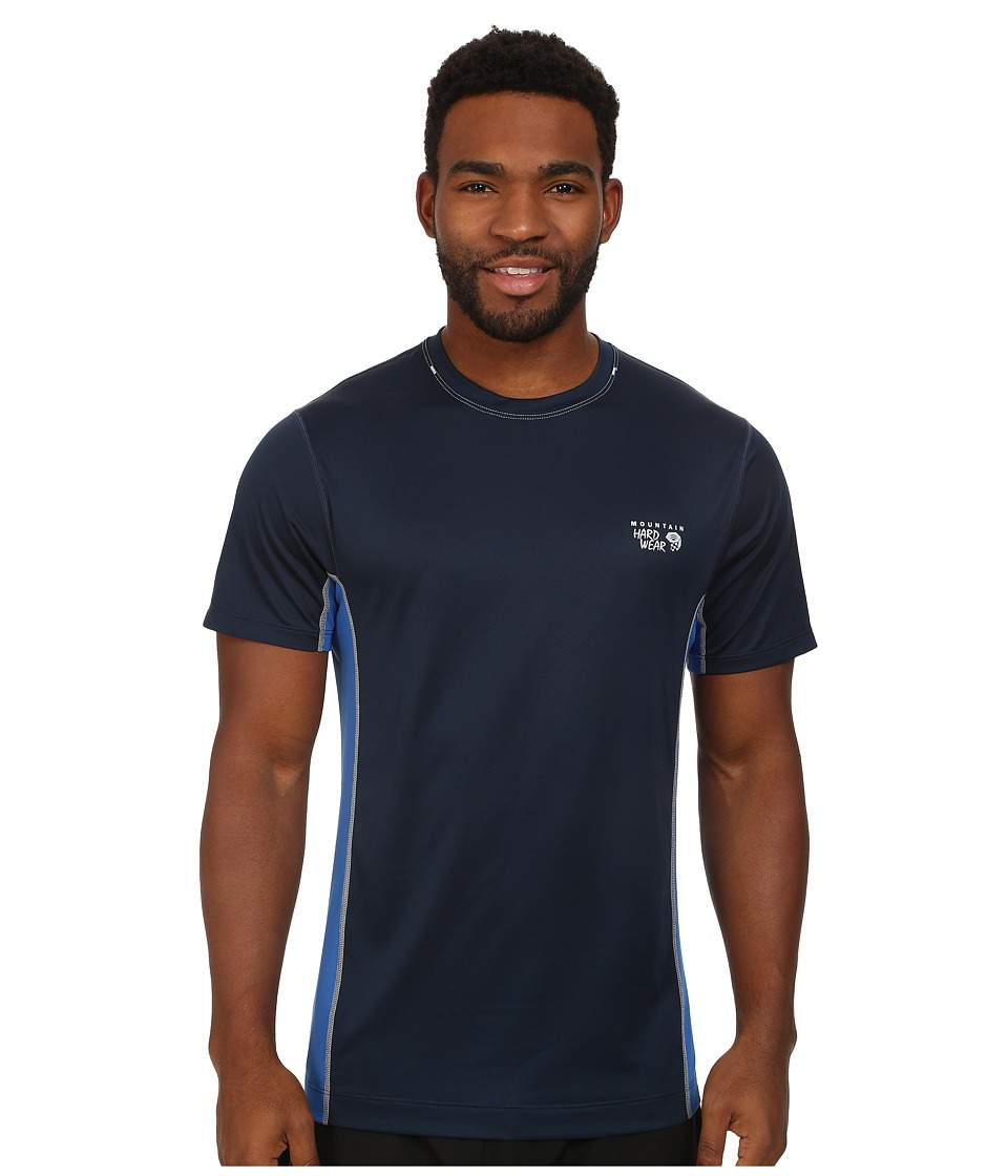 Mountain Hardwear - Wicked Lite S/S Tee (Collegiate Navy) Men's Short Sleeve Pullover