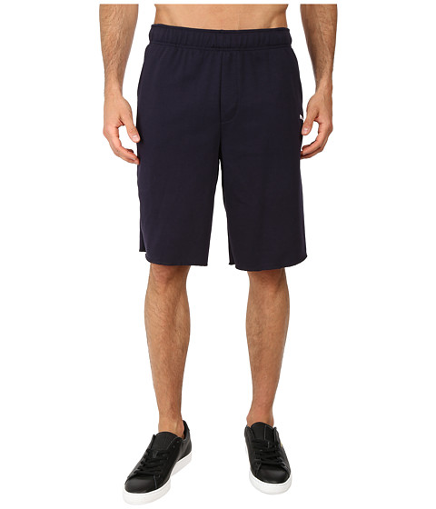 PUMA - Terry SP Sweat Short (New Navy) Men