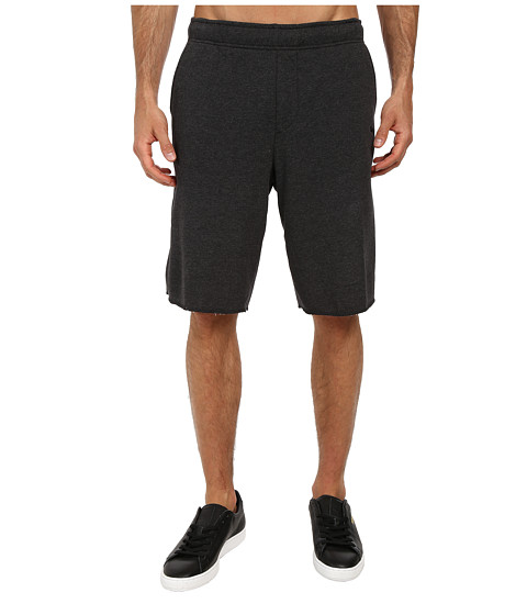 PUMA - Terry SP Sweat Short (Dark Grey Heather) Men's Shorts