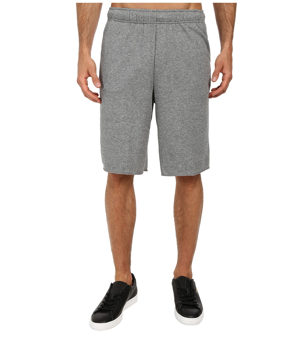 PUMA - Terry SP Sweat Short (Medium Gray Heather) Men