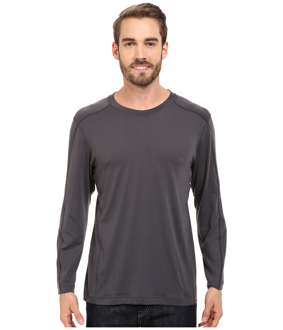 Mountain Hardwear - CoolHiker L/S Tee (Shark) Men's T Shirt