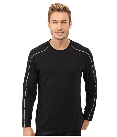 Mountain Hardwear - CoolHiker L/S Tee (Black) Men's T Shirt