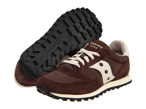 Saucony Originals - Jazz Low Pro (Brown/Tan) Men's Classic Shoes