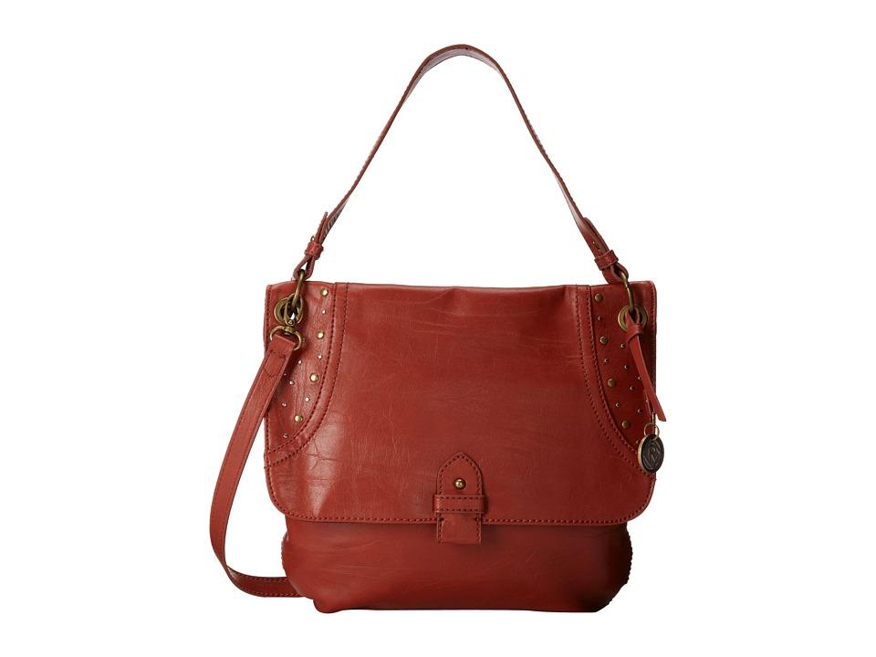 Relic - Riley Crossbody (Burnt Orange) Cross Body Handbags