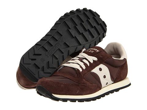 Saucony Originals - Jazz Low Pro (Brown/Tan) Women's Classic Shoes