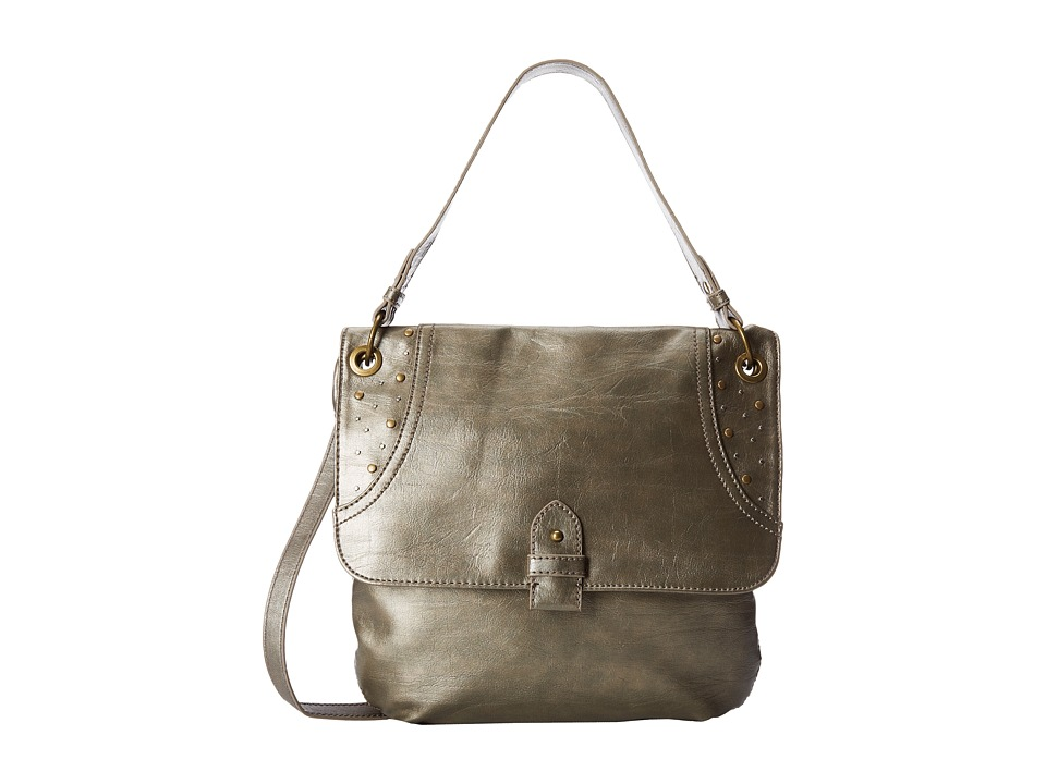 Relic - Riley Crossbody (Pewter) Cross Body Handbags