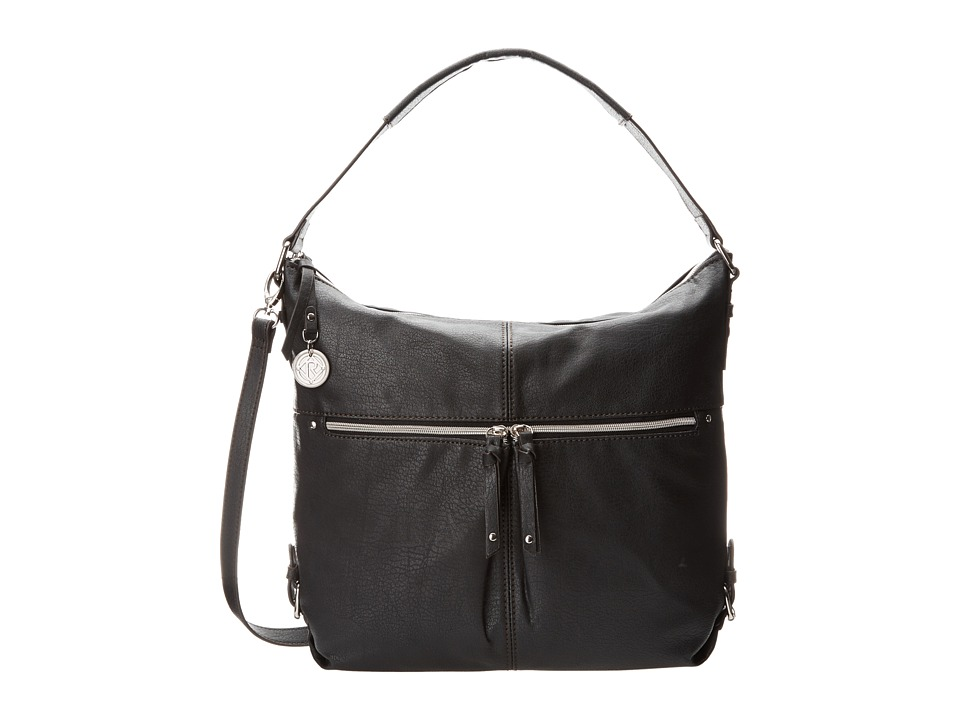 Relic - Finley Hobo Crossbody (Jet Black) Hobo Handbags