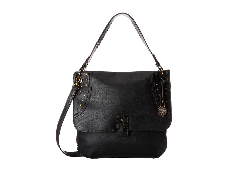 Relic - Riley Crossbody (Jet Black) Cross Body Handbags
