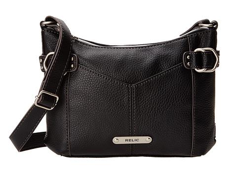 Relic - Parker Crossbody (Black) Cross Body Handbags