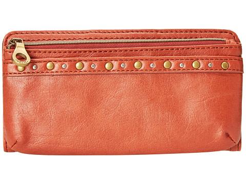 Relic - Riley Checkbook (Burnt Orange) Bi-fold Wallet
