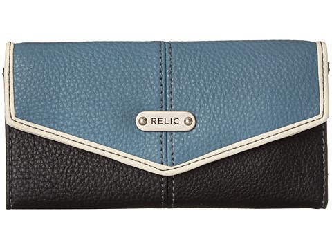 Relic - Parker Checkbook (Blue Multi) Checkbook Wallet