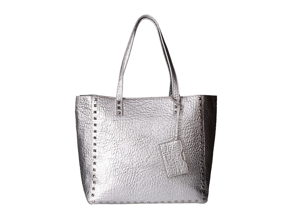 Nine West - Hadley Large Tote (Silver/Aloe) Tote Handbags