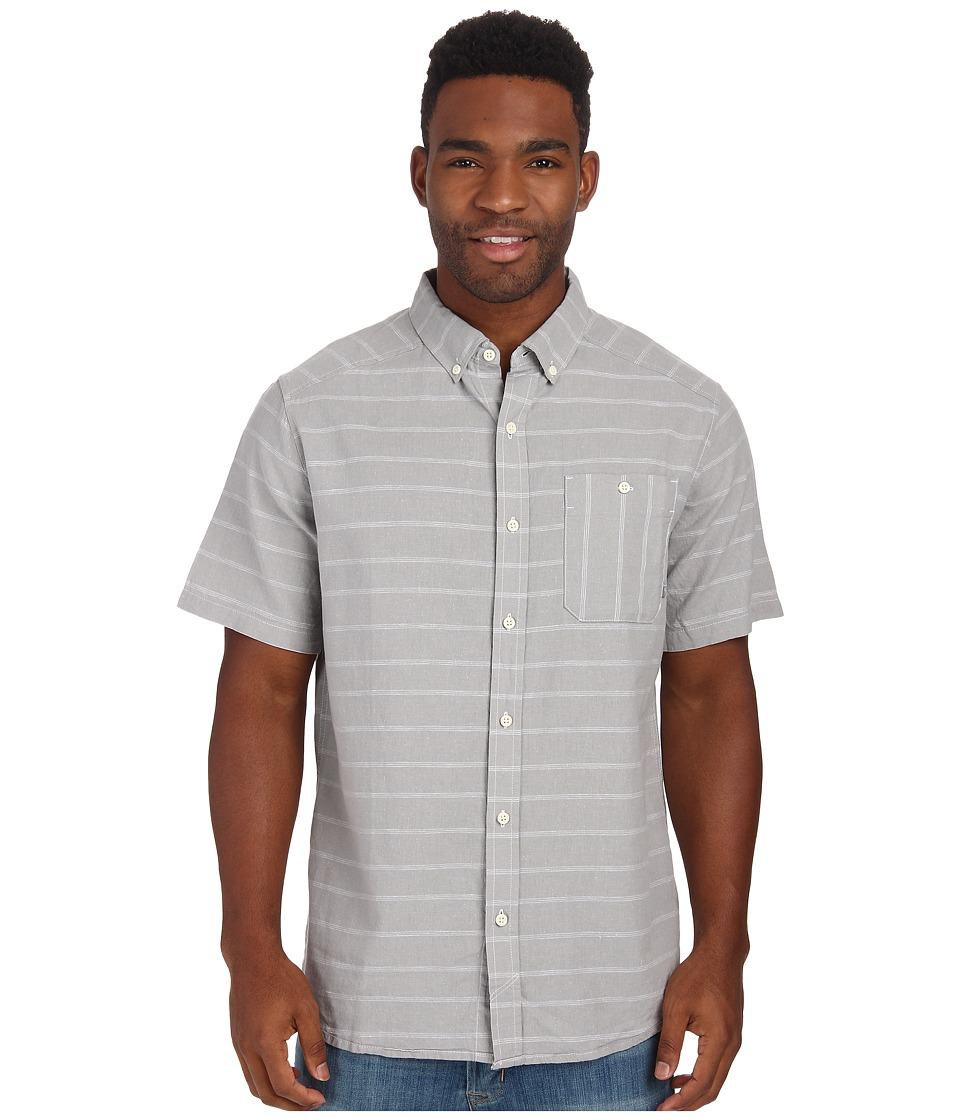 Mountain Hardwear - Codelle S/S Shirt (Steam) Men's Short Sleeve Button Up