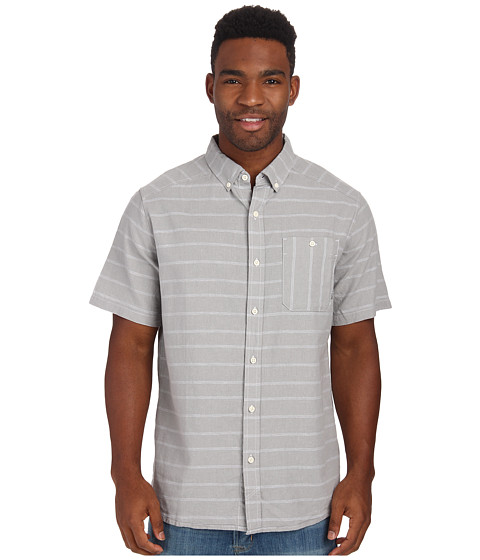 Mountain Hardwear - Codelle S/S Shirt (Steam) Men's Short Sleeve Button Up