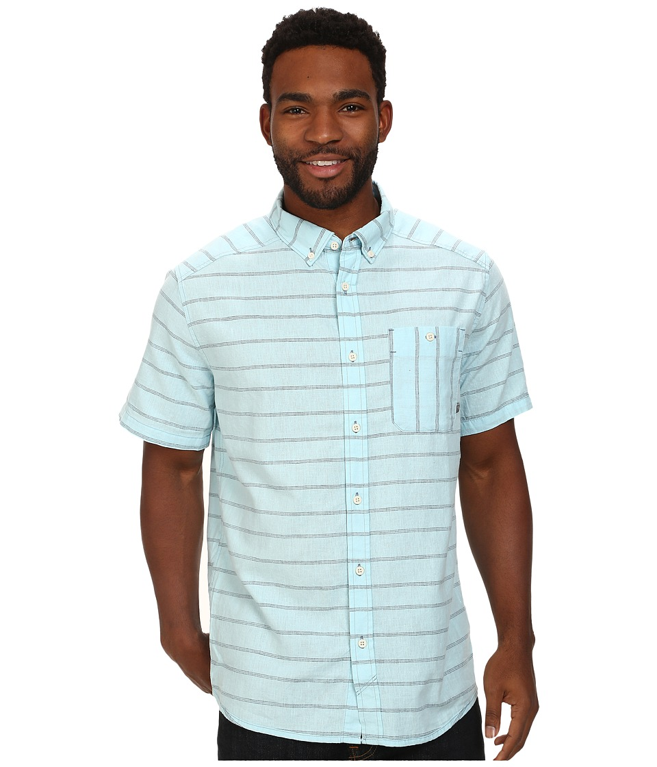 Mountain Hardwear - Codelle S/S Shirt (Pale Blue) Men's Short Sleeve Button Up
