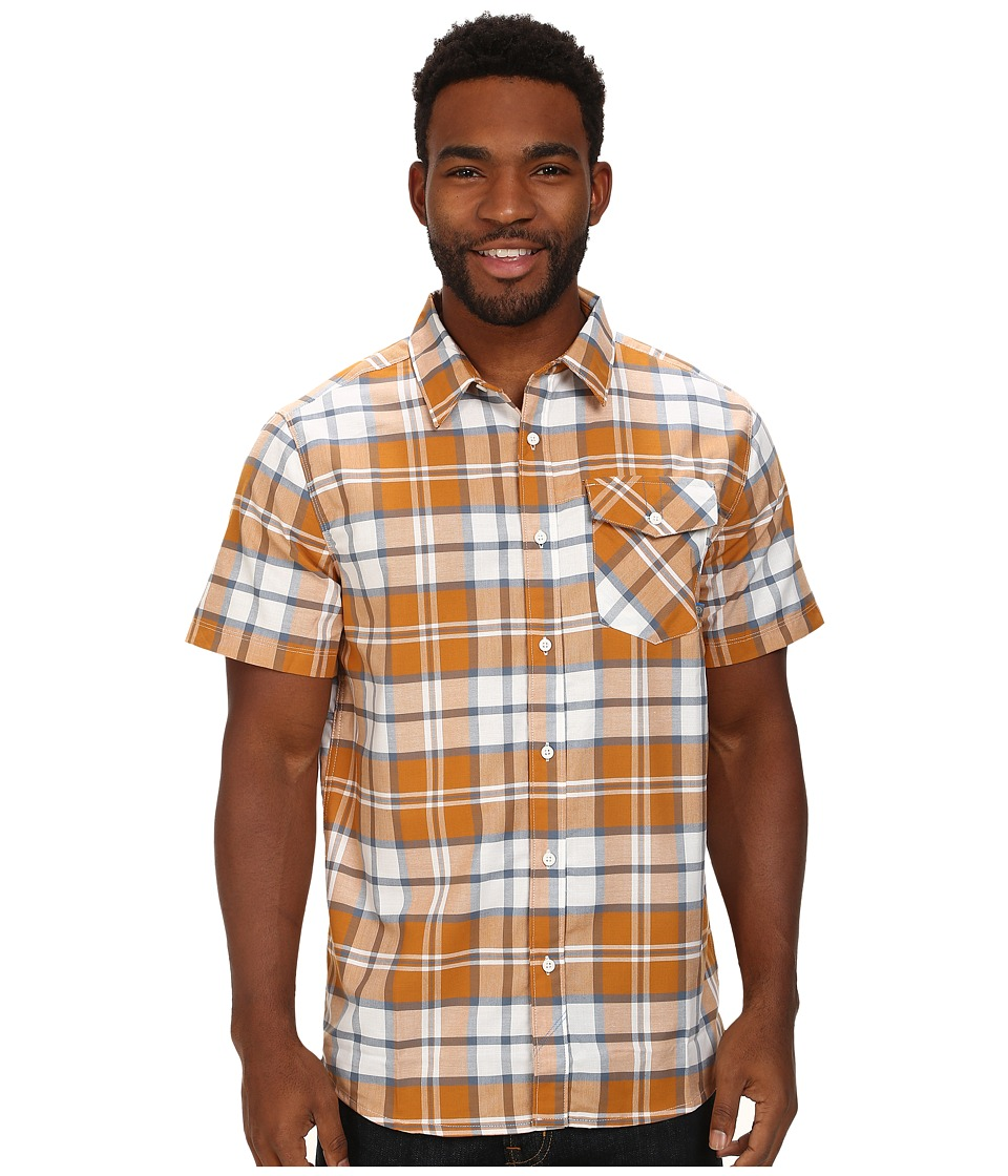 Mountain Hardwear - Drummond S/S Shirt (Desert Gold) Men's Short Sleeve Button Up