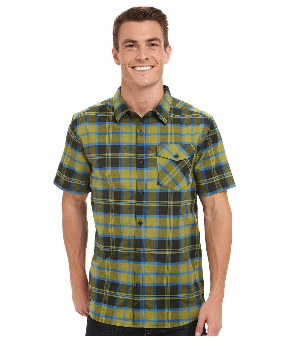 Mountain Hardwear - Drummond S/S Shirt (Python Green) Men's Short Sleeve Button Up