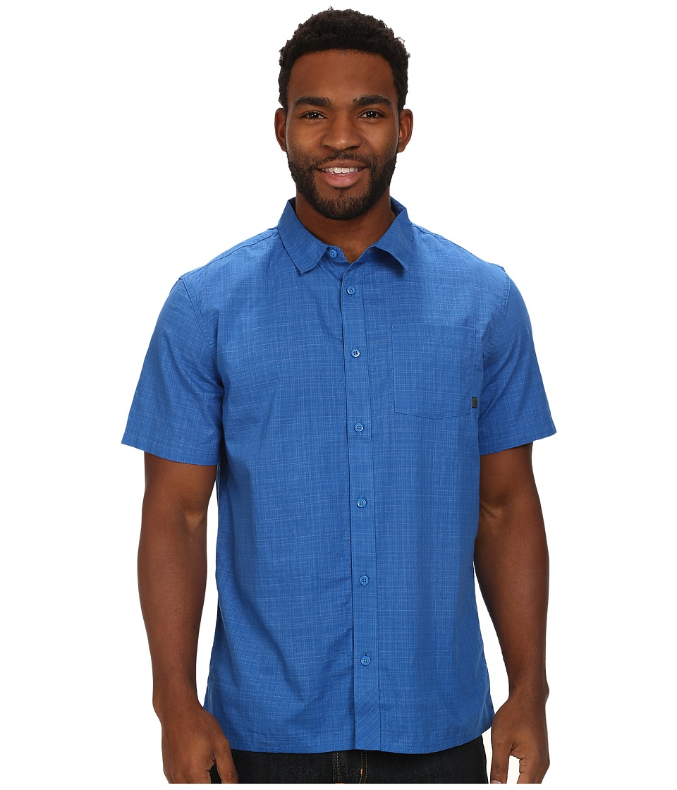 Mountain Hardwear - Mclane S/S Shirt (Blue Jay) Men's Short Sleeve Button Up