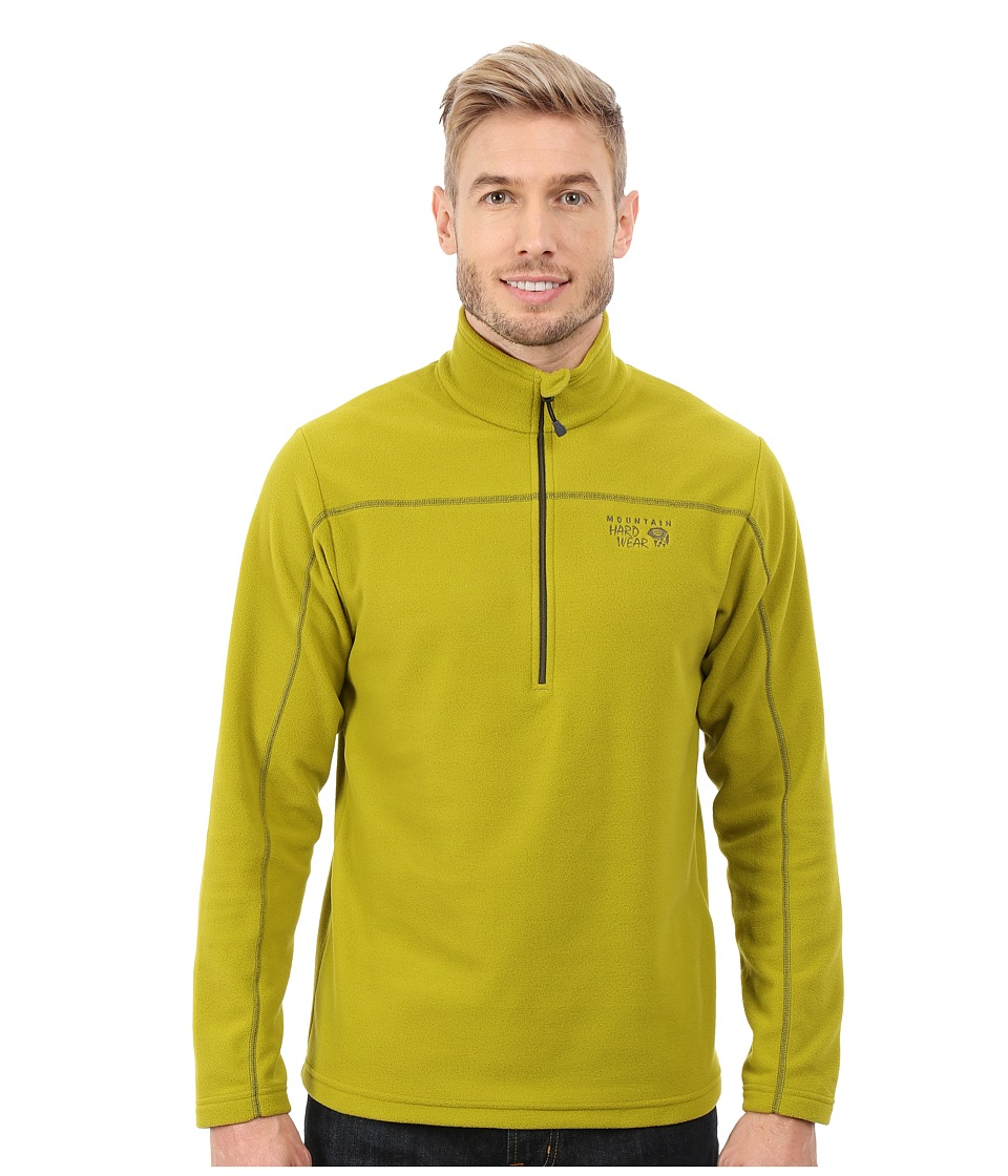 Mountain Hardwear - Microchill Zip T (Python Green) Men
