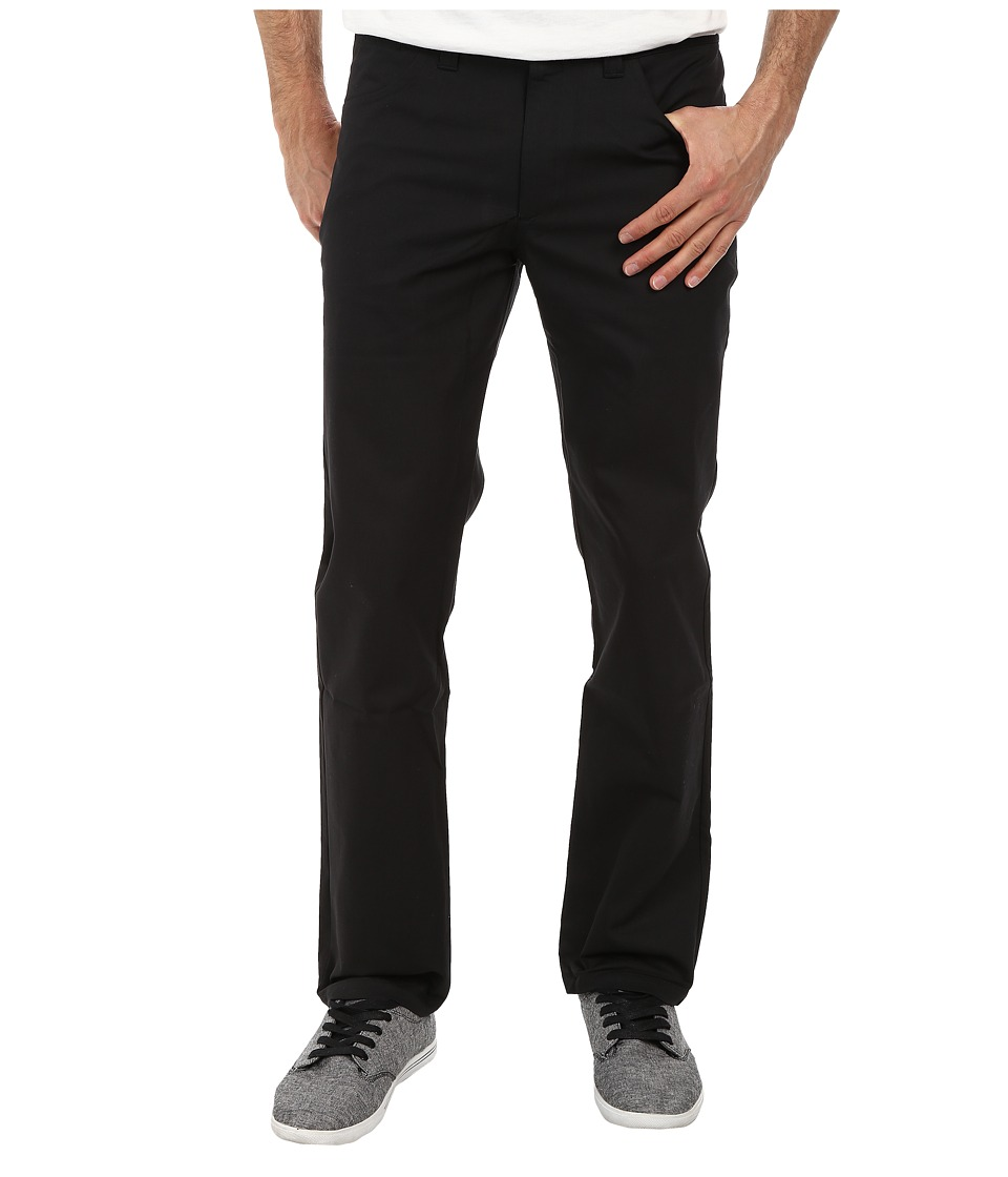 adidas Skateboarding - Five-Pocket Stretch Twill Pant (Black) Men's Casual Pants