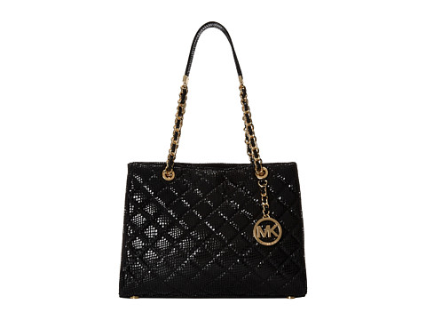 MICHAEL Michael Kors - Susannah Medium Tote (Black) Tote Handbags