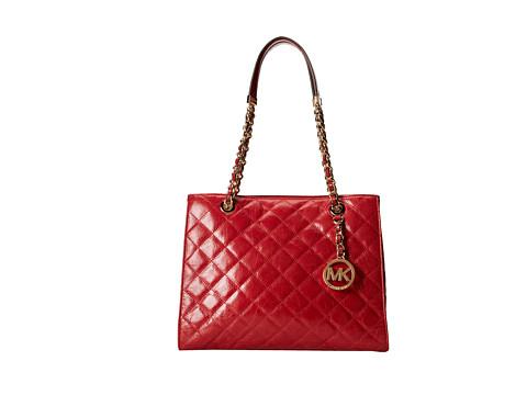 MICHAEL Michael Kors Susannah Medium Tote (Dark Red) Tote Handbags