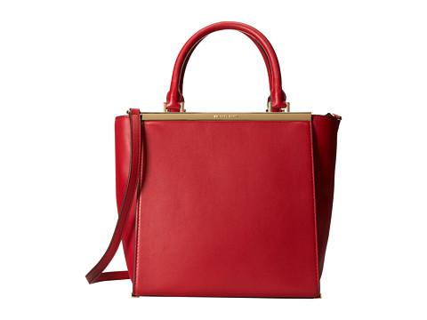 MICHAEL Michael Kors Lana Medium Tote (Dark Red) Tote Handbags