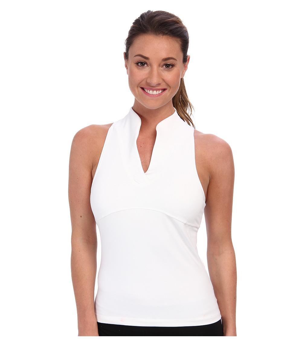 COZY ORANGE - Virgo Tank (Optic White) Women's Sleeveless