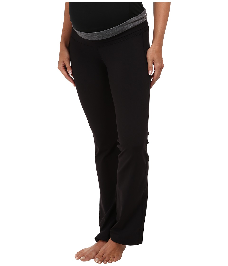 COZY ORANGE - Wanderlust Maternity Pant (Raven Black/Frost Grey) Women