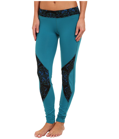 COZY ORANGE - Diana Fitted Pants (Ocean Blue/Henna Blue/Green) Women's Workout