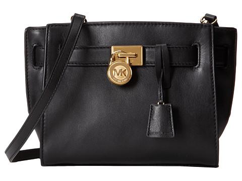MICHAEL Michael Kors Hamilton Traveler Traveler Messenger (Black 1) Cross Body Handbags