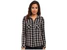 Seven7 Jeans - Two-Pocket Shirt w/ Forward Seam (Scotch Black/Grey) - Apparel
