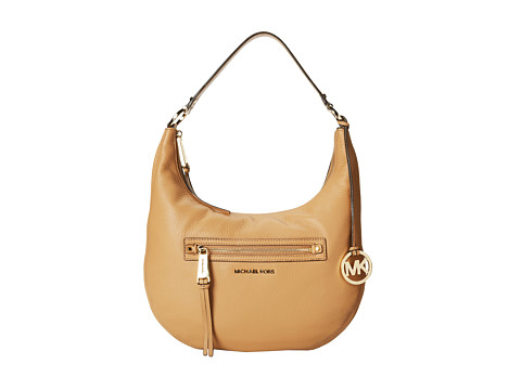 MICHAEL Michael Kors - Rhea Zip Medium Zip Shoulder (Suntan) Shoulder Handbags