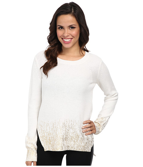 Kenneth Cole New York - Hallie Sweater (Plaster/Gold) Women's Sweater