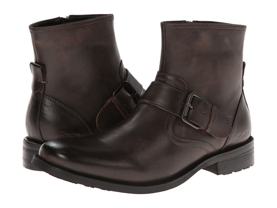 Kenneth Cole Reaction Big Buck-S (Brown Leather) Men